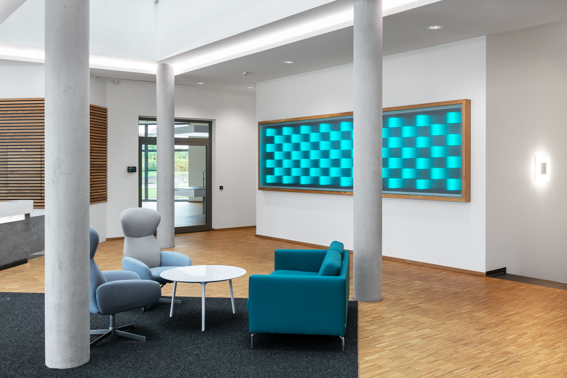 Textiler Leuchtkasten in 5m Ausführung mit Lichteffekt