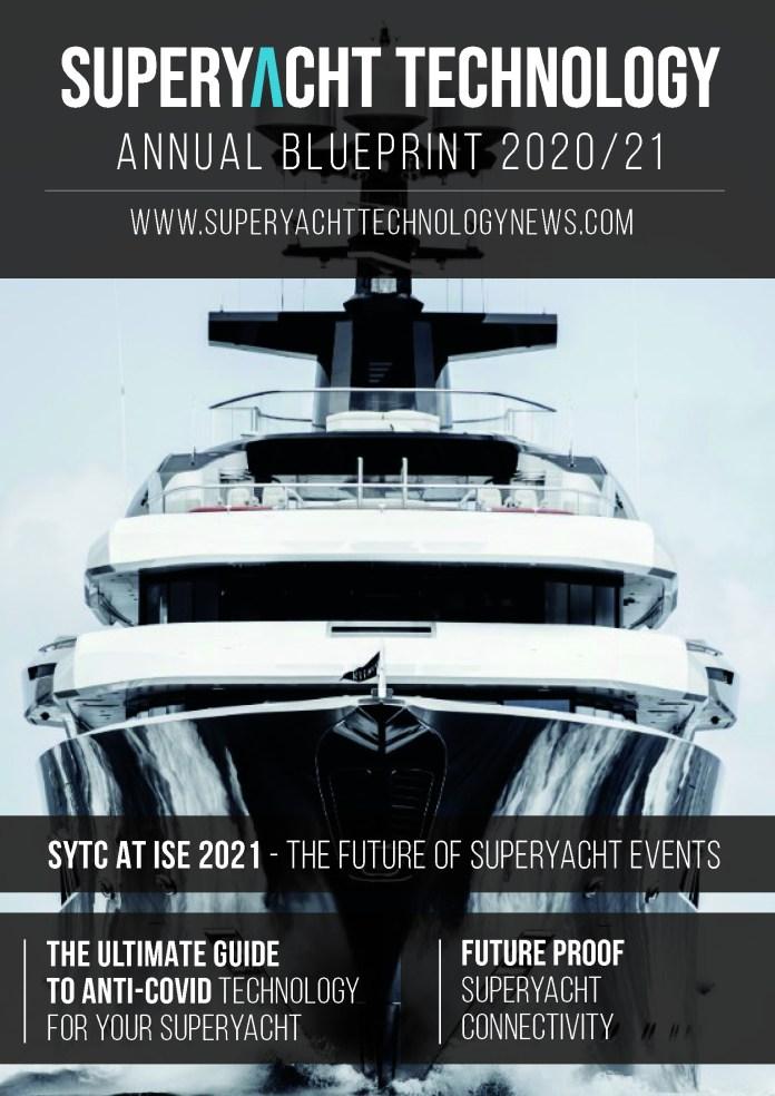 Deckblatt Super Yacht Technology Magazine